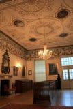 Détail exquis de pièce à l'intérieur du musée de Dublin Writer célèbre, Dublin, Irlande, octobre 2014 Photo stock