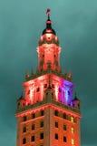 Détail extérieur de Freedom Tower dans le Midtown Miami Image libre de droits