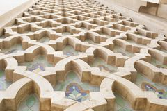 Détail extérieur, mosquée du Roi Hassan II, Casablanca, Maroc, Afrique du Nord, Afrique photos libres de droits