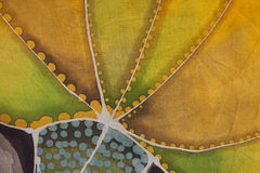 Détail floral d'illustration de textile Image libre de droits