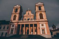 Détail germanique d'église des tours images stock