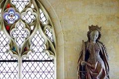 Détail intérieur gothique français image libre de droits