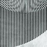 Détail intérieur moderne abstrait noir et blanc photo stock