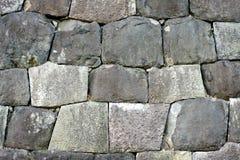 Détail japonais de mur de fortification Images libres de droits