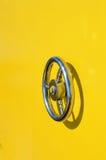Détail jaune de bathyscaphe Photographie stock