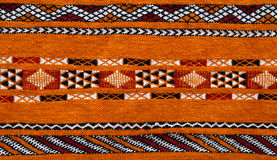 Détail marocain de tapis Image libre de droits