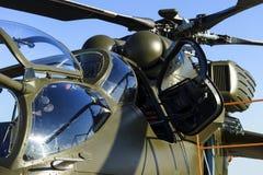 Détail militaire d'hélicoptère image libre de droits