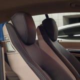 Détail moderne d'intérieur de véhicule Photographie stock libre de droits