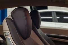 Détail moderne d'intérieur de véhicule Image stock