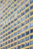 Détail moderne de façade de bâtiment photographie stock