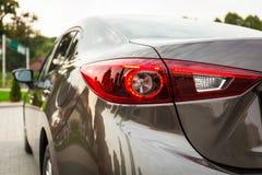 Détail moderne de lumière de voiture Images stock
