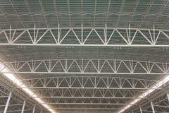 Détail moderne de plafond d'architecture de ville Image stock