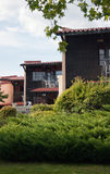 Détail moderne de villas Images libres de droits