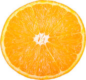 Orange_slice a isolé Photo stock