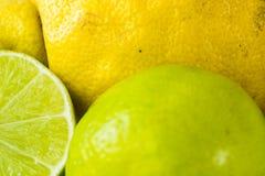 Détail organique de fruit de citron de Shell photo libre de droits