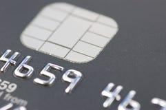 Détail par la carte de crédit de puce Image libre de droits