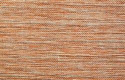 Détail rouge de surface de toile de jute Image libre de droits
