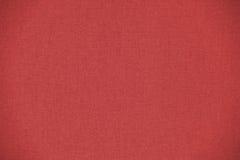 Détail rouge de texture vide de textile de tissu Photo libre de droits