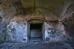 Détail ruiné de maison dans HDR photos libres de droits
