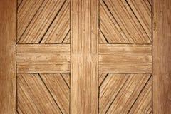 Détail sur la vieille porte en bois roumaine Photographie stock