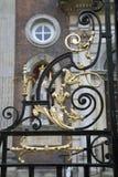 Détail sur le palais de corporations de Worcester, Angleterre Image stock