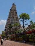 Détail, temple Madurai de Menakshi Photo libre de droits