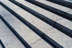 Détail tiré des escaliers en pierre Images stock