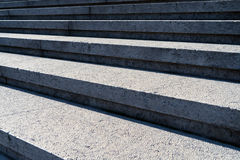 Détail tiré des escaliers en pierre Photo stock