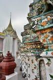 détail Wat Arun bangkok thailand photographie stock