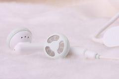 détaille des écouteurs images stock