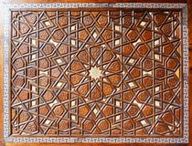 Détaille la porte de la mosquée de Suleymaniye Image libre de droits