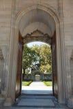 Détaille la porte de la mosquée de Suleymaniye Images libres de droits