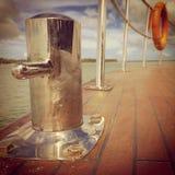 Détaille le bateau Photos libres de droits