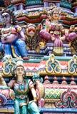 détaille le temple indou photographie stock