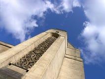 Détailler gothique sur la construction victorienne image stock