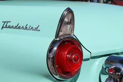 détails américains d'arrière de voiture Photo stock