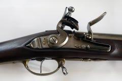 Détails antiques d'arme à feu Image stock