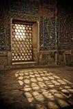 Détails architecturaux de Registan, Samarkand, Uzbe Photos libres de droits