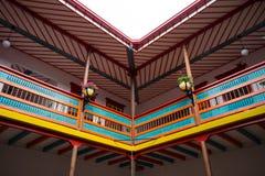 Détails architecturaux en EL Jardin Colombie Photo stock