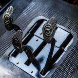 Détails automobiles de vintage des pédales Photographie stock libre de droits