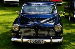 Détails classiques d'admission de Volvo Images libres de droits