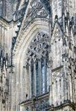 Détails d'église de Cologne Photos libres de droits