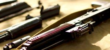 Détails d'AK-47 des fusils Photo stock