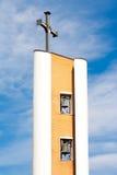 Détails d'architecture de religion dans Pietrelcina, Italie Photo libre de droits