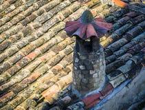 Détails d'architecture typique de village médiéval espagnol avec Images stock