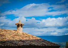 Détails d'architecture typique de village médiéval espagnol avec Photo stock