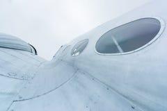 Détails d'avion de propulseur Image stock
