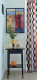 Détails d'intérieur de cuisine dans le style campagnard Image libre de droits