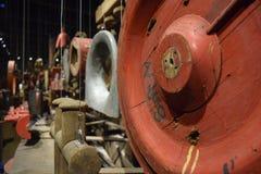 Détails d'un vieux bateau Photographie stock