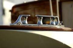 Détails de bateau à voiles photographie stock